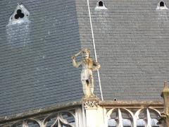 Cathédrale Notre-Dame - Basilique-cathédrale Notre-Dame de l'Annonciation de Moulins- Gargouille (2)