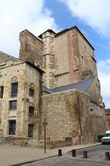 Ancien château ou Palais des ducs de Bourbon - Français:   Château des ducs de Bourbon, Moulins, Allier.