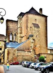 Ancien château ou Palais des ducs de Bourbon - Français:   Ancien château des ducs de Bourbon. Tour nommée la mal-coiffée. Moulins. Allier