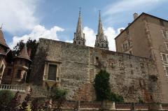 Ancien château ou Palais des ducs de Bourbon - Français:   Moulins, France