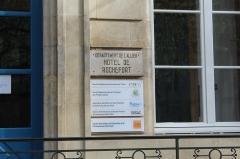 Ancien hôtel de Rochefort - Français:   Hôtel de Rochefort, Moulins, Allier.