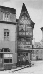 Maison - English: Houses of the XV century in Moulins