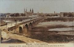 Pont de Regemortes -  Vue du pont Regemortes depuis la Madeleine, fin du XIXe -début du XIXE.