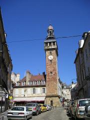 Tour de l'Horloge dite Jacquemart - Deutsch: Moulins, Uhrturm