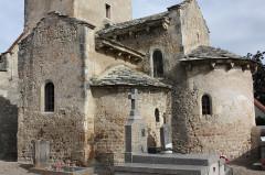 Eglise Saint-Julien - Français:   Poëzat - Eglise Saint-Julien