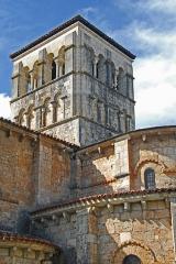 Eglise Sainte-Croix - Deutsch: Ste-Croix de Veauce, Vierungsturm von SO