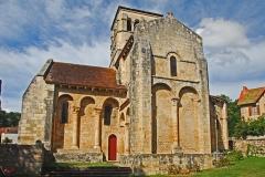 Eglise Sainte-Croix - Deutsch: Ste-Croix de Veauce, Lang- und Querhaus von S