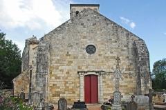 Eglise Sainte-Croix - Deutsch: Ste-Croix de Veauce, Ersatzfassade von W