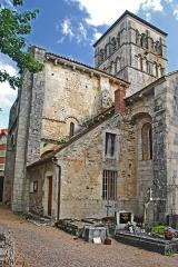Eglise Sainte-Croix - Deutsch: Ste-Croix de Veauce, Nordseite, Lang- u. Querhaus