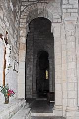 Eglise Sainte-Croix - Deutsch: Ste-Croix de Veauce, aus nördl. Seitenschiff nach vorne