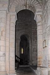 Eglise Sainte-Croix - Deutsch: Ste-Croix de Veauce, aus südl. Seitenschiff nach vorne