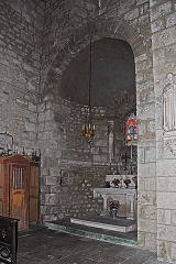 Eglise Sainte-Croix - Deutsch: Ste-Croix de Veauce, Querhauskapelle
