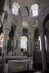 Eglise Sainte-Croix - Deutsch: Ste-Croix de Veauce, Chorapsis