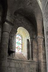 Eglise Sainte-Croix - Deutsch: Ste-Croix de Veauce, Fenster Chorumgang