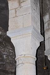 Eglise Sainte-Croix - Deutsch: Ste-Croix de Veauce, Kapitell Chorapsis