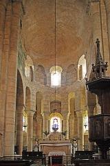 Eglise Sainte-Croix - Deutsch: Ste-Croix de Veauce, Chor aus Vierung