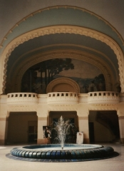 Etablissement thermal - Polski: Vichy - wnętrze pawilonu Napoleona III