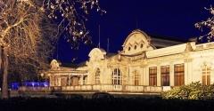 Théâtre et grand Casino - Palais des Congrès (ex Casino) - opéra de Vichy la nuit
