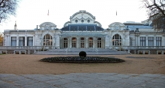 Théâtre et grand Casino - English: Palais des Congrès-Opéra in Vichy, Allier, Auvergne (Auvergne-Rhône-Alpes), France. [9553]