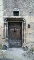 Maison dite du Bailliage -  Porte de la maison du Bailliage à Vichy