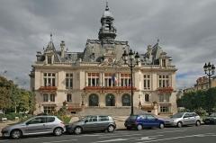 Hôtel de ville - Deutsch: Rathaus von Vichy. Vichy (etwa 26000 Einwohner) ist ein weltbekanntes  Heilbad in Frankreich.