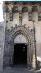 Eglise Saint-Jean-Baptiste -  Entrée de l'Église Saint Jean-Baptiste d'Allanche