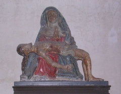 Eglise Saint-Jean-Baptiste - Piéta, statue