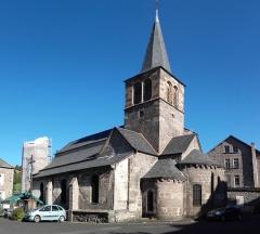 Eglise Saint-Jean-Baptiste -  Église Saint Jean-Baptiste d'Allanche