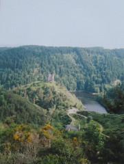 Restes du château fort -  Alleuze