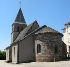 Château de la Vigne - Ally, église Saint-Ferréol
