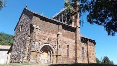 Eglise Saint-Cirgues -  Eglise Saint-Cirgues d\'Andelat