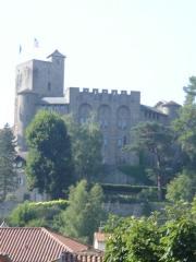 Ancien château fort Saint-Etienne -  Aurillac, château Saint-Étienne