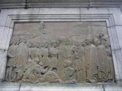 Statue du Pape Gerbert -  Aurillac - statue of Sylvester II