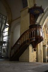 Eglise Saint-Barthélémy - Français:   Chaire de l\'église de Chalinargues, Cantal Auvergne, France