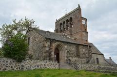 Eglise Saint-Barthélémy - Français:   Eglise de Chalinargues, Cantal Auvergne, France
