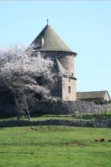 Tour du Couffour - English: Couffour castel to Chaudes-Aigues
