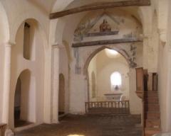 Eglise Saint-Blaise -  L'intérieur de l'église de Leyvaux