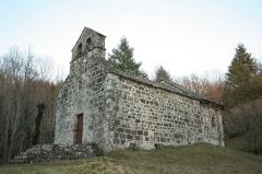 Chapelle de Jailhac - Français:   Chapelle Notre-Dame de Claviers, hameau de Jailhac, Moussages, Cantal, France.