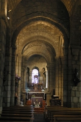 Eglise Saint-Georges -  Nef de l'église de Riom ès Montagnes