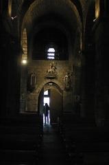 Eglise Saint-Georges -  Porte du fond de l'eglise de Riom-ès-Montagnes