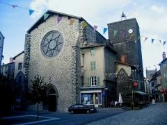 Ancienne église Notre-Dame -  Auvergne Saint-Flour Notre Dame