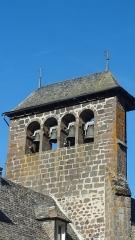Eglise Saint-Martin - Français:   Vue du clocher en peigne