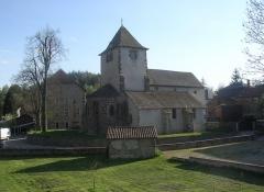 Eglise Saint-Poncy -  Eglise de Saint-Poncy