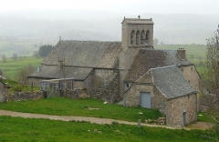 Eglise Saint-Rémi - Français:   Église Saint-Rémi de Saint-Rémy-de-Chaudes-Aigues (Cantal, France)