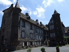 Maison de Flogeac - English: Salers, Cantal, FRANCE