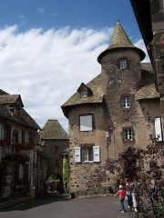 Porte Martille -  in th city of Salers (Cantal)