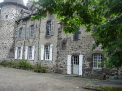 Château de la Laubie -  Chateau de Lalaubie facade sud aile Est de la chapelle