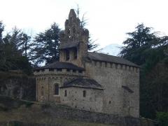 Chapelle du Calvaire ou église Saint-Pierre - Français:   Chapelle du calvaire à Castillon-en-Couserans (Ariège, France).