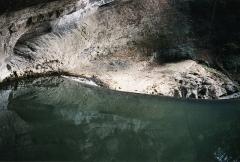 Grotte du Mas-d'Azil -  Intérieur de la Grotte du Mas d'Azil,Ariège,France.(Photo argentique scannée)