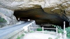 Grotte du Mas-d'Azil - English: North entrance of the Mas d'Azil cave